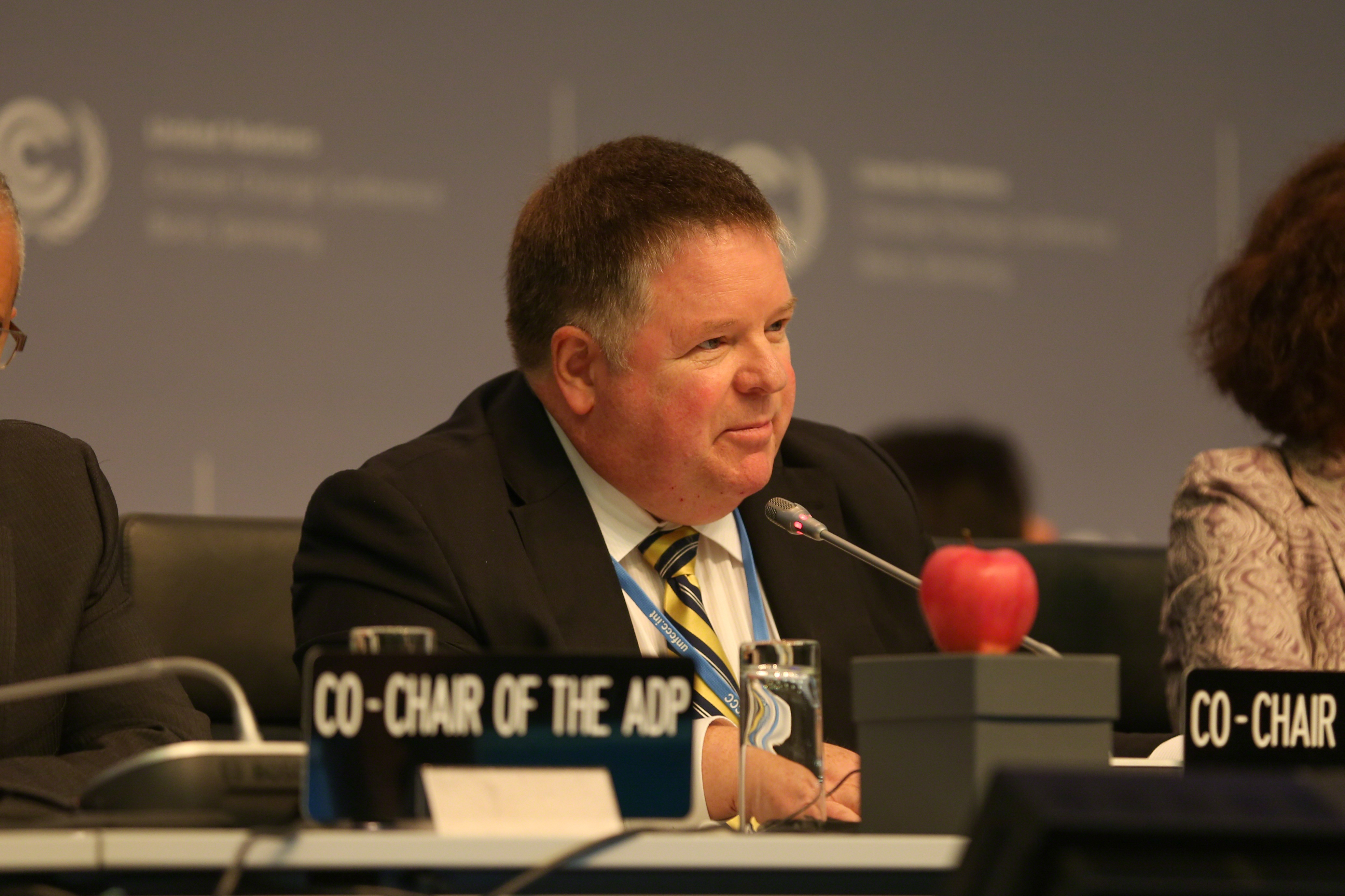 Co-Chair Daniel Reifsnyder hopes that the groups make much more progress in a bid to inspire action in others