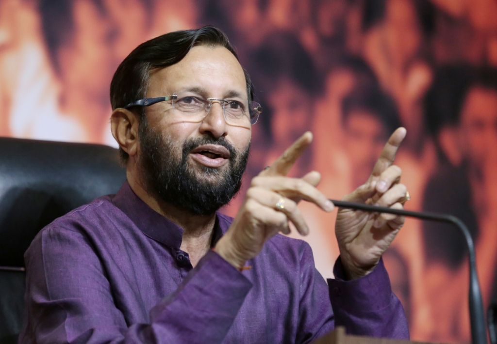 Plant 10-15 trees to create oxygen banks: Javadekar