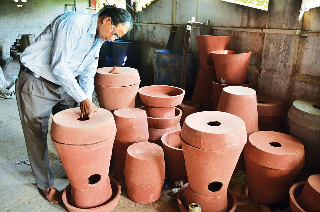 Ashuddhi-nashak is an eco-friendly way to burn used sanitary napkins (Photograph: Dharmesh Parekh)