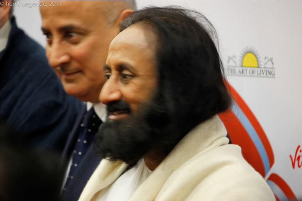 Is Sri Sri honouring or disrespecting the Yamuna? Credit: Flickr