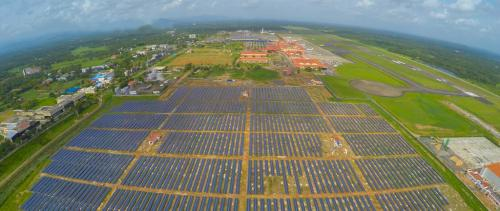 Cochin airport becomes the world's first to operate on solar power