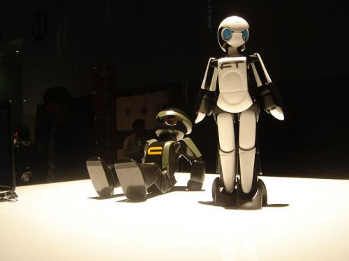 My robot Valentine: could you fall in love with a robot?