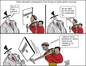 'Africa demands compensation from Europe to battle global warming'