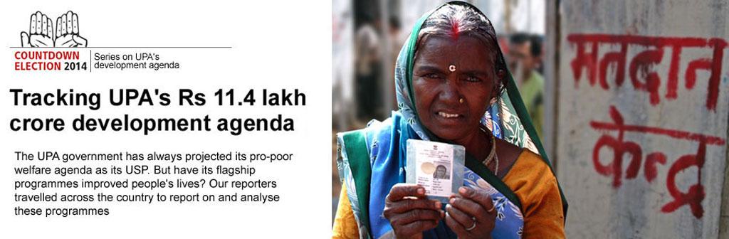 Tracking UPA's development agenda