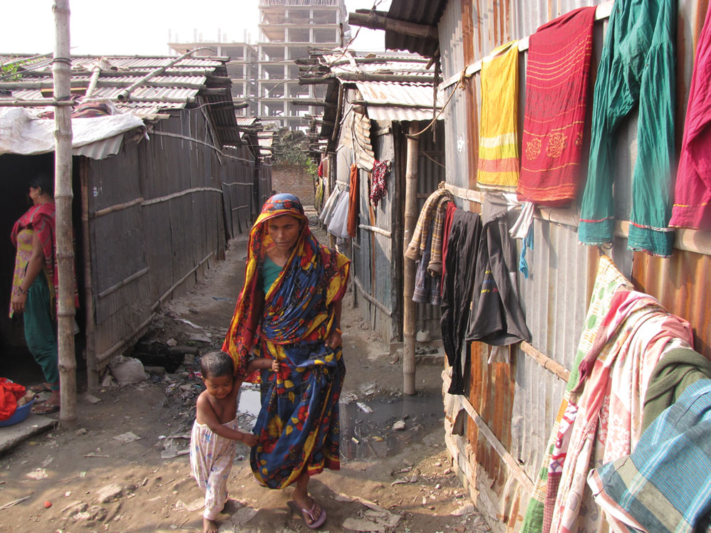 Slums on rent