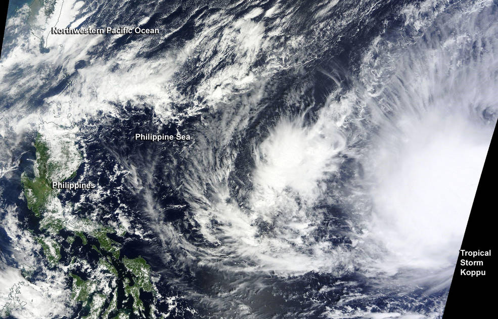 Typhoon Koppu brings severe floods to Philippines