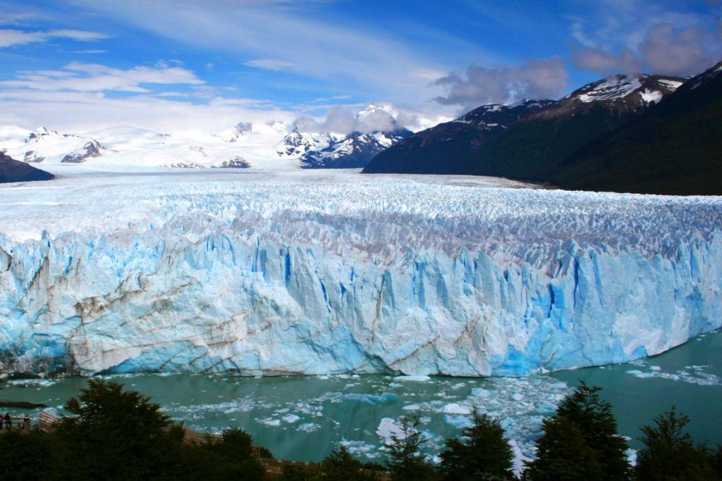 Perito Moreno glacier, Patagonia, Argentina Credit: Flickr
