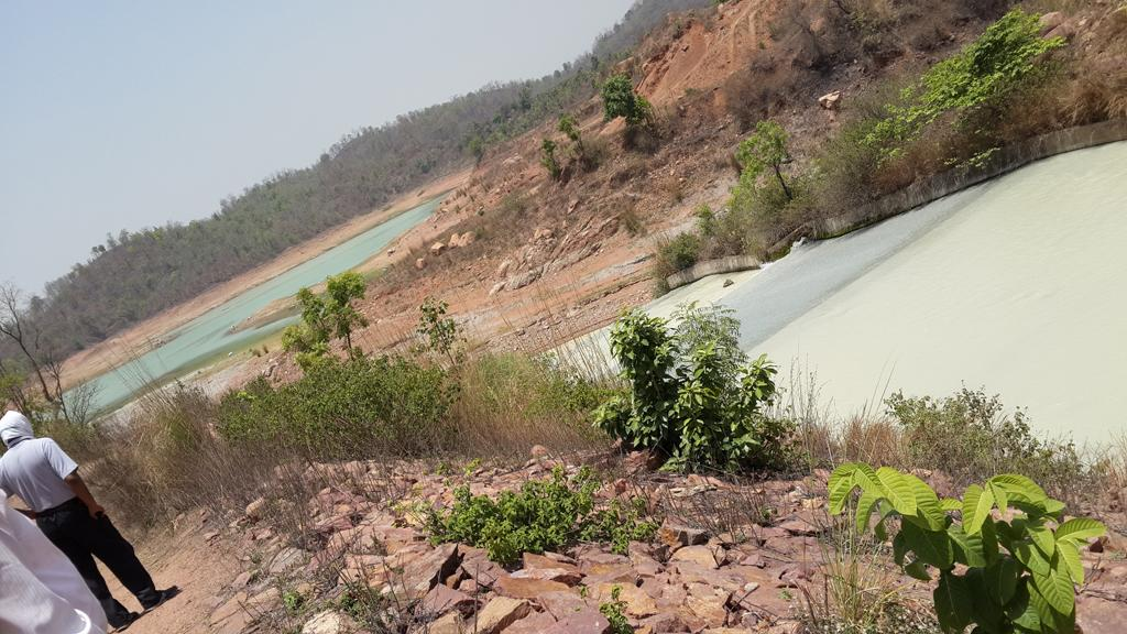 Anpara thermal power station: Uttar Pradesh Rajya Vidyut Utpadan Nigam Limited's Anpara plant discharges ash slurry directly into Rihand dam. Water in the reservoir is entirely contaminated by effluent discharges from industries in the area. The National Green Tribunal in May 2014 ordered installation of zero discharge facilities in all industries in the area
