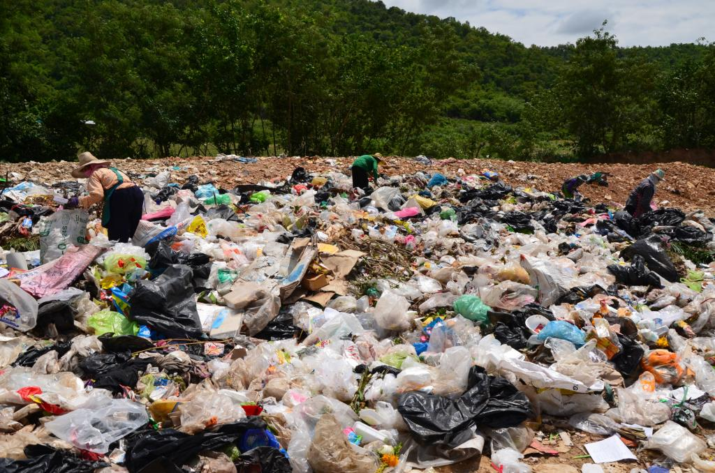 Huge investment is needed to clean billions of tonnes of waste that has been dumped across world