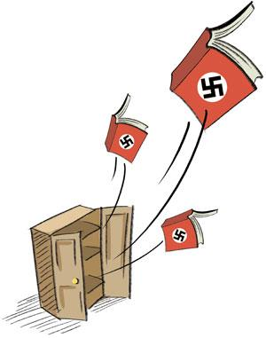 Mein Kampf struggles free