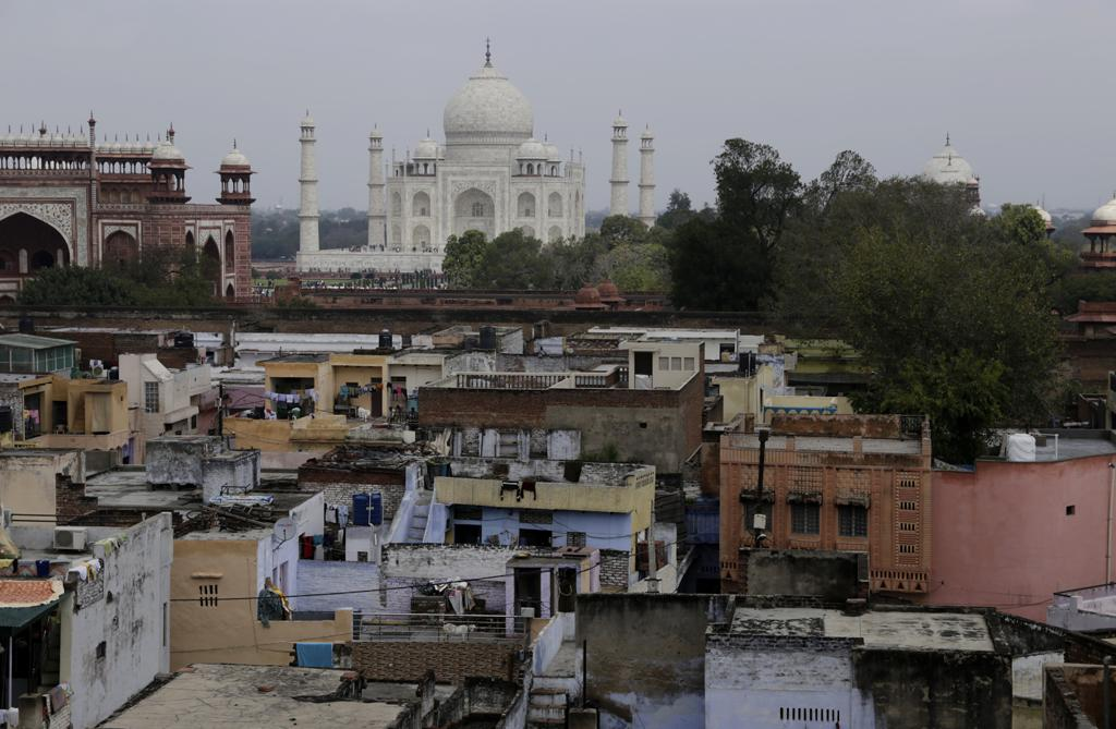 According to legend, the Tajganj village near the monument was built by the Mughal administration to house artisans who would maintain the Taj after it had been built