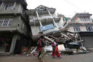 A year after the quake we look at the physical changes