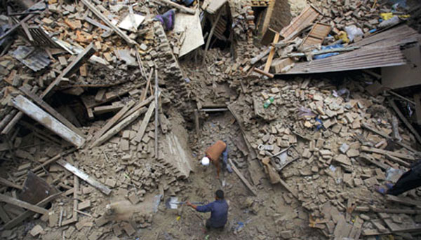 'The great Himalayan earthquake', yet to arrive