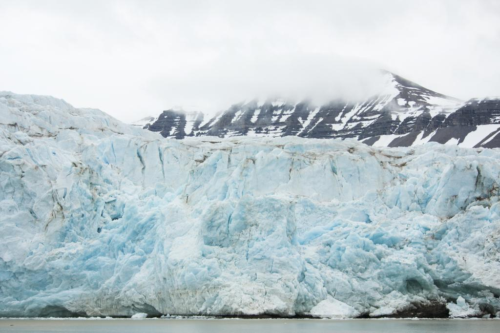 Big Nordenskioldbreen glacier on Svalbard. Photo: Flickr