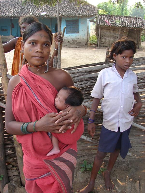The tribe numbers only 150,000 people spread over forested areas of Madhya Pradesh and Chhattisgarh (Photo: Kumar Sambhav Shrivastava)