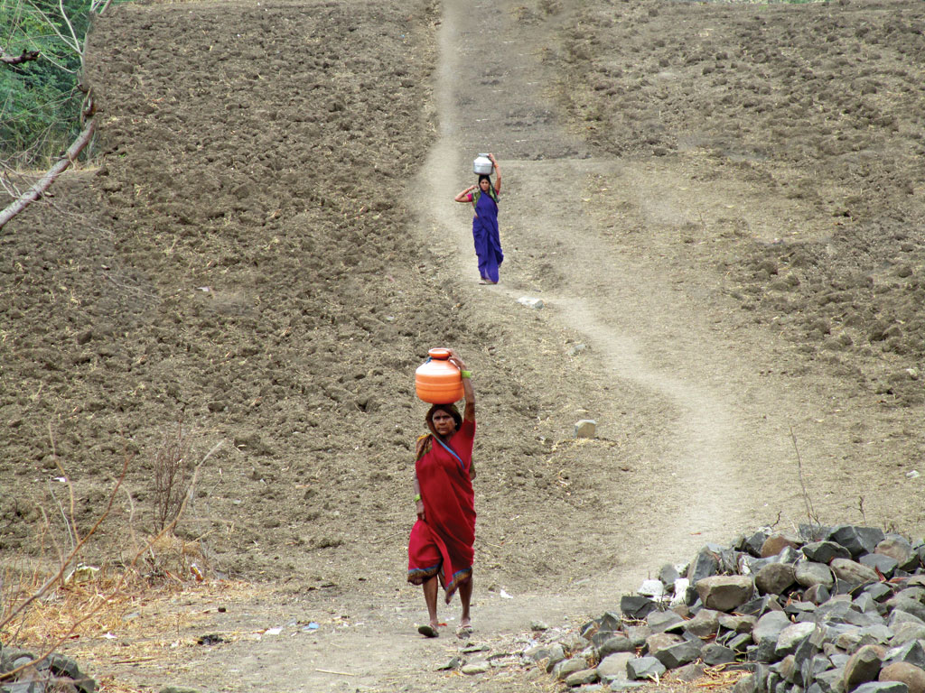 Village women in