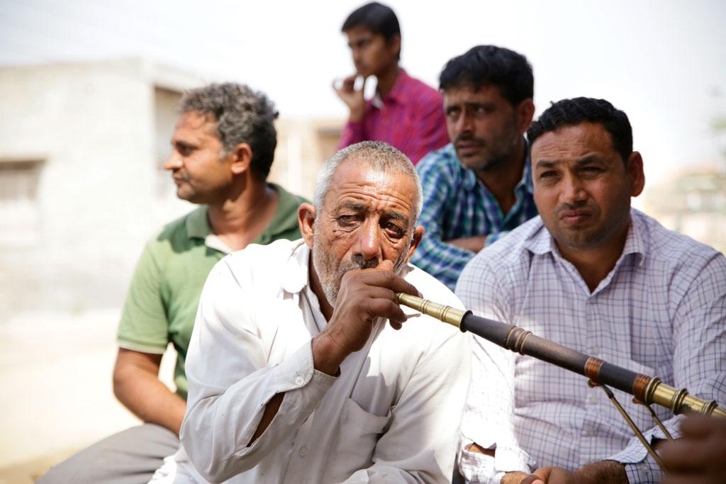 Fifty-five-year-old Azad Jat is a farmer in Haryana's Baghpur village (Photographs: Vikas Choudhary)