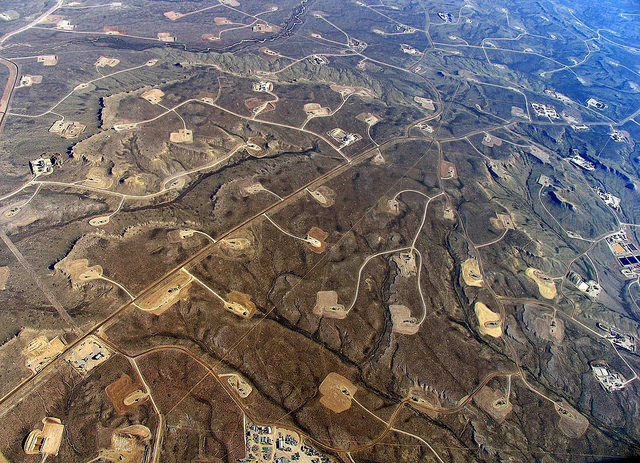 Fracking is the process of drilling into the earth for extracting gas (Simon Fraser University/Flickr)