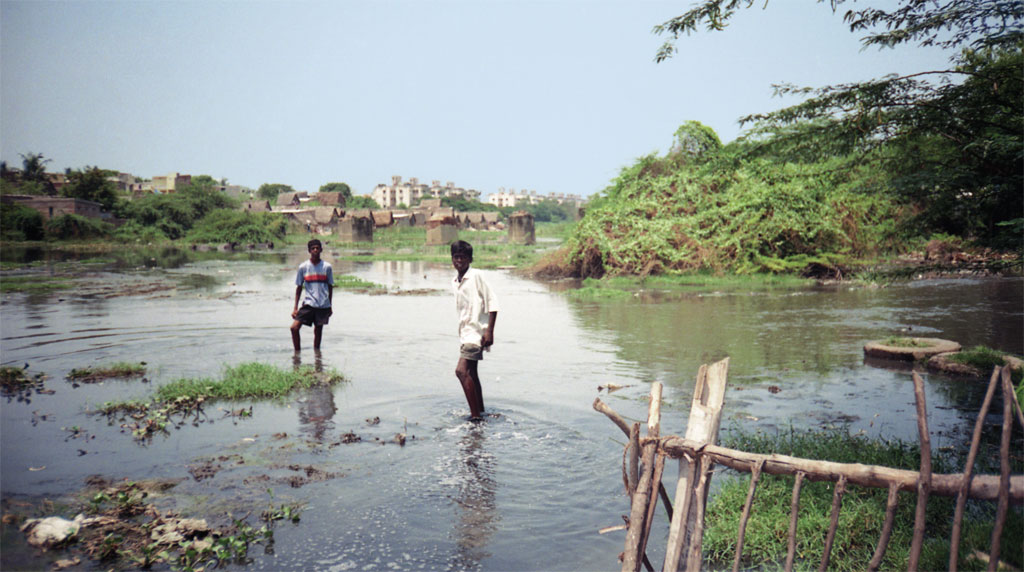 Chennai gets enormous amounts of money to clean its rivers and waterways, which continue to look like this (Photo: R K Srinivasan)