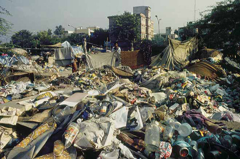 Indian waste is not suitable for incineration because combustibles are actually segregated by informal ragpickers (Photo: Arvind Yadav)