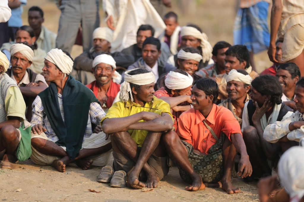 The tribe has around 150,000 people spread over forested areas of Madhya Pradesh and Chhattisgarh