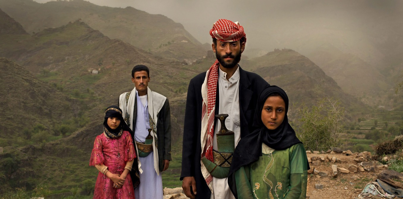 The Sustainable Development Goals include targets to end child marriages and female genital mutilation. Tahani (in pink) married when she was 6 - nearly half of all women in Yemen were married as children. (Stephanie Sinclair/VII Agency/EPA)