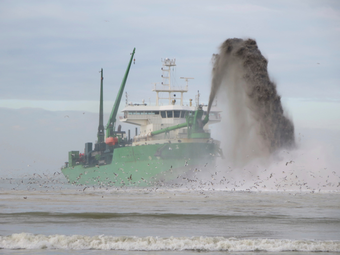 Dredging, which is employed to enable shallow-water seabed mining, results in physical alteration of the seabed environment (Photo credit: Thinkstock)