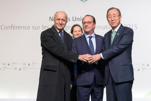 French President sets agenda for COP 21