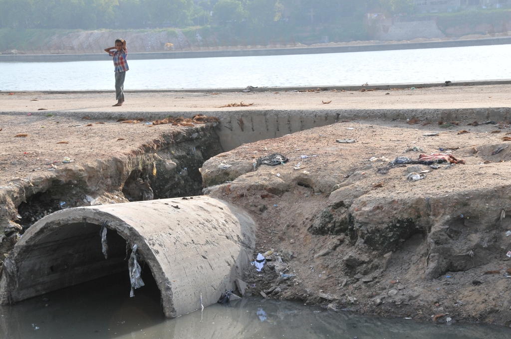 '78% of sewage generated in India remains untreated'