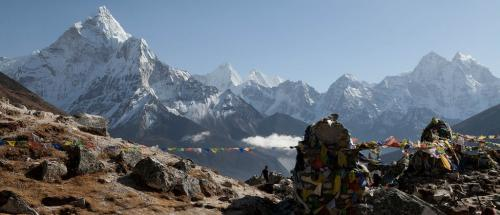 Pollution and garbage greet tourists on Himalayan treks